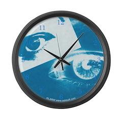 Positive-Negative Large Wall Clock