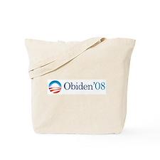 Obiden '08 Tote Bag