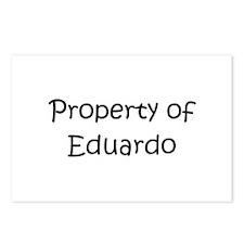 Cute Eduardo Postcards (Package of 8)