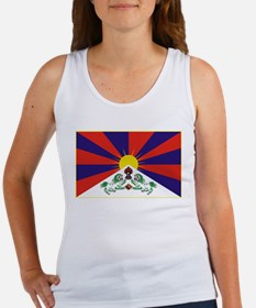 Flag of Tibet Women's Tank Top