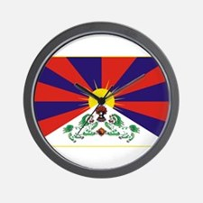 Flag of Tibet Wall Clock
