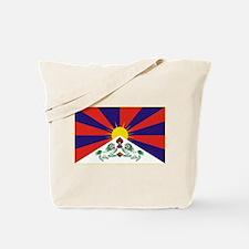 Flag of Tibet Tote Bag
