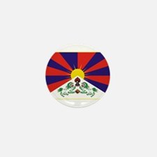 Flag of Tibet Mini Button (10 pack)