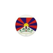 Flag of Tibet Mini Button