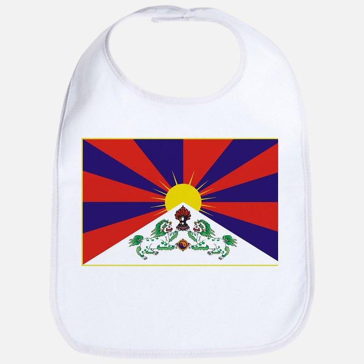 Flag of Tibet Bib