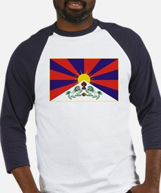 Flag of Tibet Baseball Jersey
