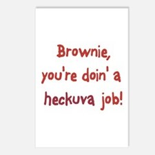 Heck of a Job Postcards (Package of 8)