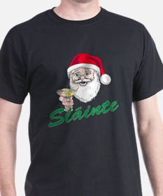 Slainte Merry Christmas T-Shirt