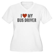 I Love My Bus Driver T-Shirt