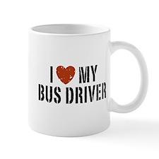 I Love My Bus Driver Mug