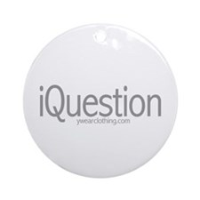 iQuestion Ornament (Round)
