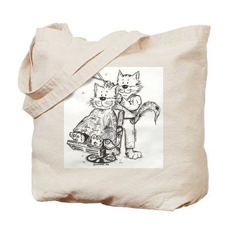 Hair Stylist/Barber Cat Tote Bag