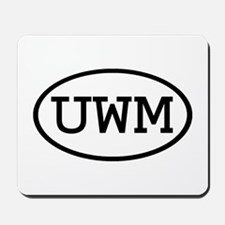 UWM Oval Mousepad
