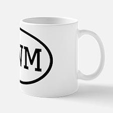 UWM Oval Mug