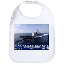 USS Bunker Hill CG-52 Bib