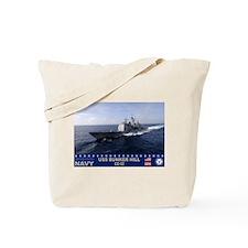 USS Bunker Hill CG-52 Tote Bag