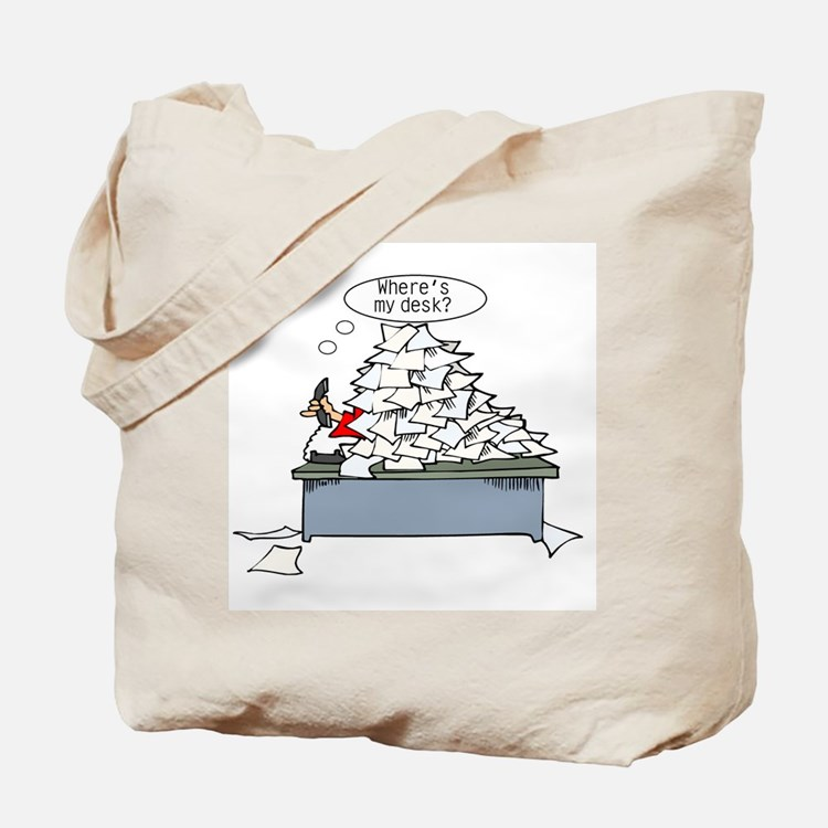 Office Humor Tote Bag