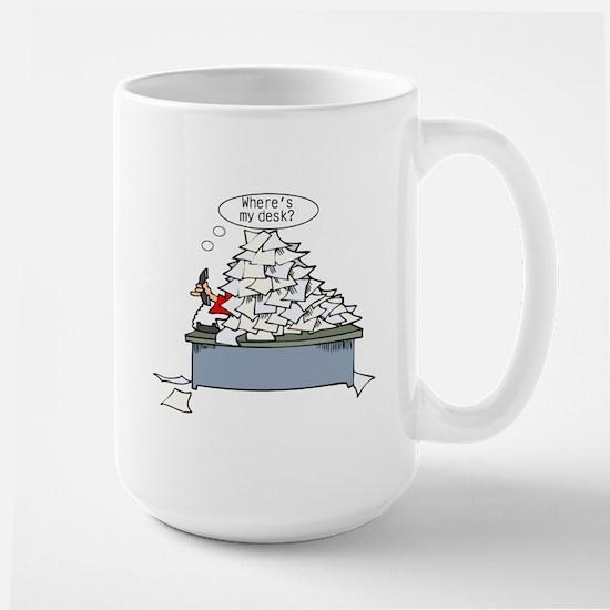 Office Humor Large Mug
