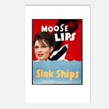 Moose Lips Sink Ships Postcards (Package of 8)