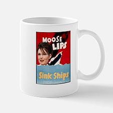 Moose Lips Sink Ships Mug