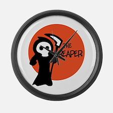 The Reaper Large Wall Clock