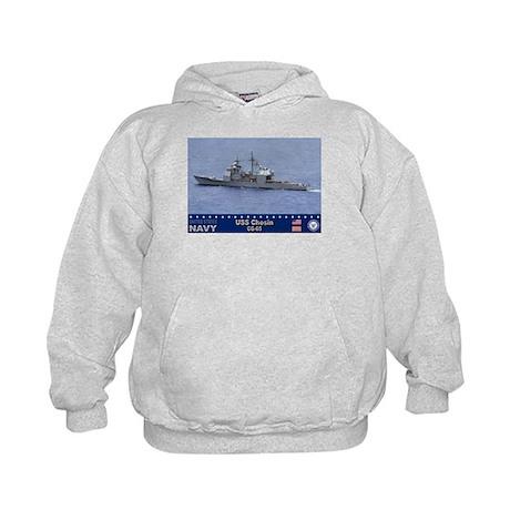 USS Chosin CG-65 Kids Hoodie