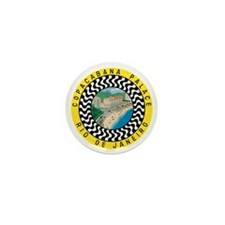 Copacabana Palace Rio Mini Button
