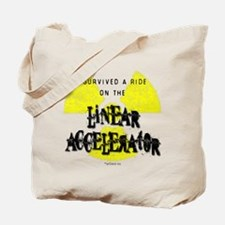 Survived Linear Accelerator Tote Bag