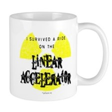 Survived Linear Accelerator Small Mug