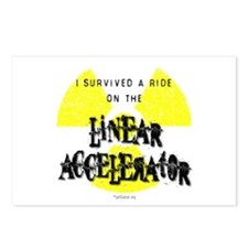 Survived Linear Accelerator Postcards (Package of
