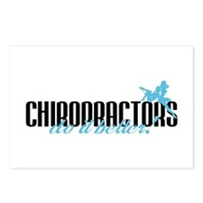 Chiropractors Do It Better! Postcards (Package of