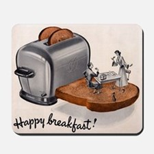Happy Breakfast! Mousepad