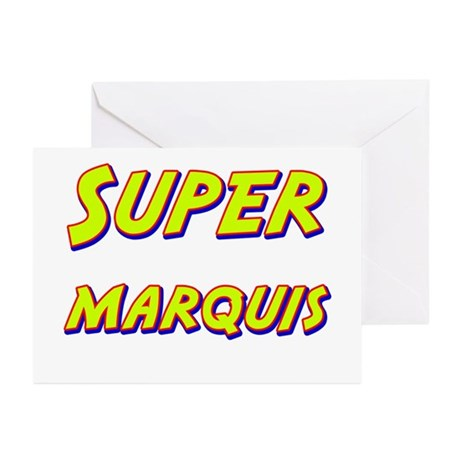 Super marquis Greeting Cards (Pk of 10)