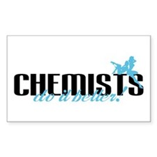 Chemists Do It Better! Rectangle Decal
