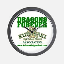 Dragons Forever Wall Clock