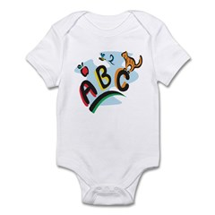 ABC Infant Bodysuit