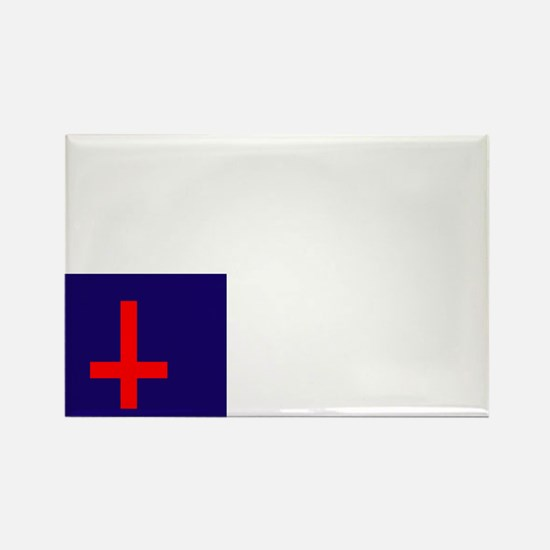 Un-Christian Flag Rectangle Magnet