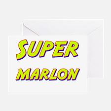 Super marlon Greeting Card