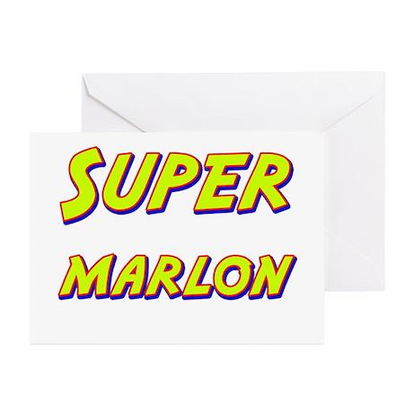 Super marlon Greeting Cards (Pk of 10)