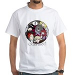 CQ Circle White T-Shirt