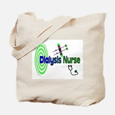 Funny Dialysis nurse Tote Bag