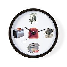 Toasters Wall Clock