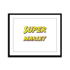 Super marley Framed Panel Print