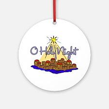 O HOLY NIGHT Ornament (Round)