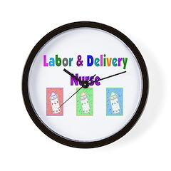 Labor & Delivery Nurse Wall Clock