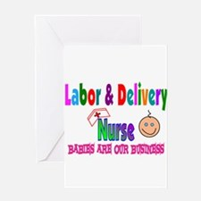 Labor & Delivery Nurse Greeting Card