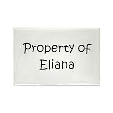 Funny Eliana Rectangle Magnet