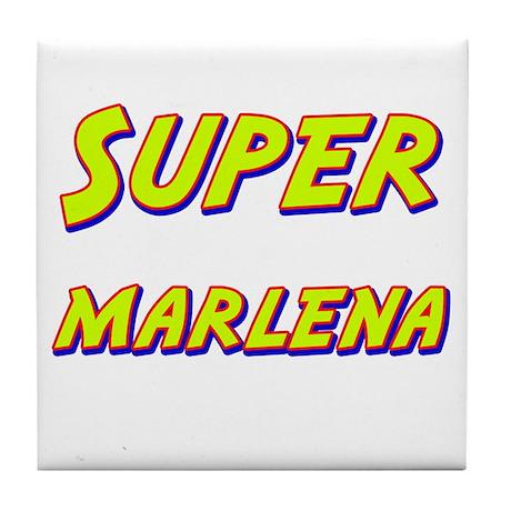 Super marlena Tile Coaster