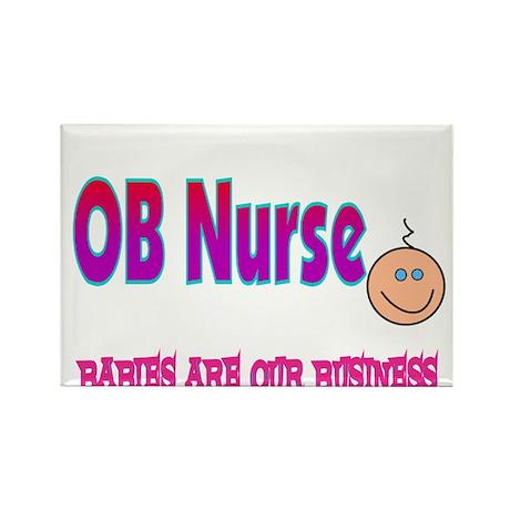 Ob Nurse Magnets | Ob Nurse Refrigerator Magnets - CafePress