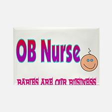 Labor & Delivery Nurse Rectangle Magnet